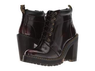 Dr. Martens Averil Seirene (Cherry Red Arcadia) Women's Boots