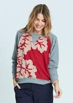 Karen Zambos Coral Abba Sweatshirt Style 2