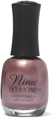 Nina Ultra Pro Chromed-Out Rose Nail Lacquer
