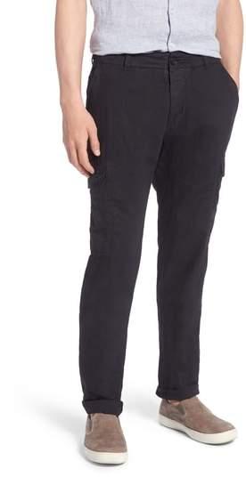 James Perse Linen & Cotton Cargo Pants
