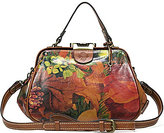 Patricia Nash Heritage Print Collection Gracchi Floral Satchel
