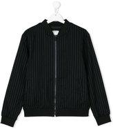 DKNY Teen pinstripe bomber jacket
