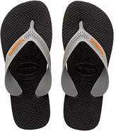 Havaianas Max, Boys' Flip Flops, Black ( 0294), 7 Child UK (23/24 Brazilian) (25/26 EU)