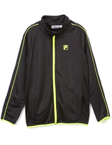 Fila Anthracite French Terry Track Jacket - Boys