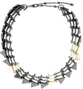Alexis Bittar Two-Tone Collar Necklace