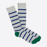 J.Crew Factory Tipped-stripe socks