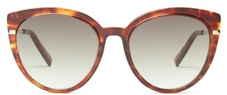 Le Specs Promiscuous Cat-eye Acetate Sunglasses - Tortoiseshell