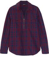 Madewell Mckinney Plaid Cotton-Flannel Shirt