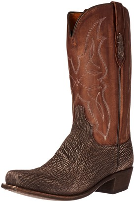 Lucchese Classics Men's Carl Sanded Shark Riding Boot