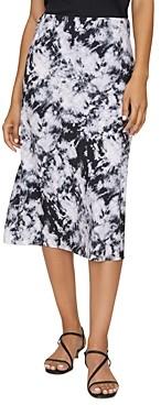 Sanctuary Printed Midi Slip Skirt