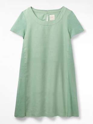 White Stuff Koi Linen Dress