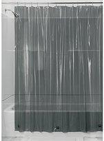 InterDesign Vinyl 4.8 Gauge Shower Liner, 72 by 72-Inch, Smoke