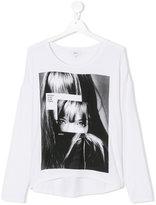 DKNY Teen printed T-shirt - kids - Viscose/Spandex/Elastane - 16 yrs