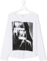 DKNY Teen printed T-shirt