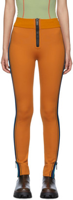 M Missoni Orange Scuba Leggings