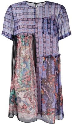 Liberty London Maxine Dahlia baby doll dress
