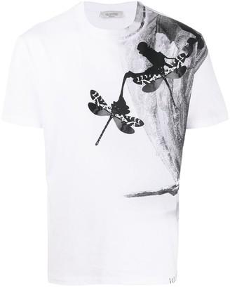 Valentino Butterfly print T-shirt