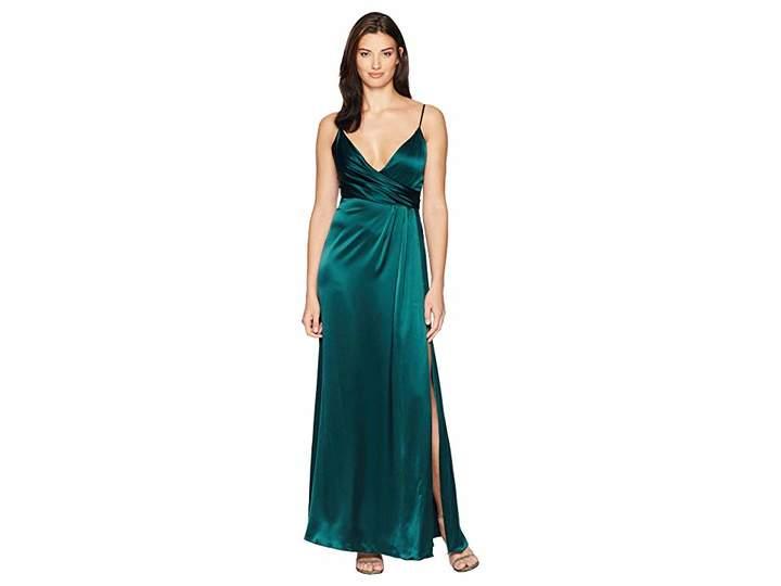 Jill Stuart Satin Back Crepe Slip Dress