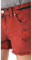 Free People Overdyed Cutoff Denim Shorts