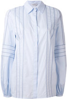 Gabriela Hearst striped panel shirt