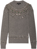 Gucci Embellished Knit Sweater