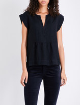 AG Jeans The Trista twill top