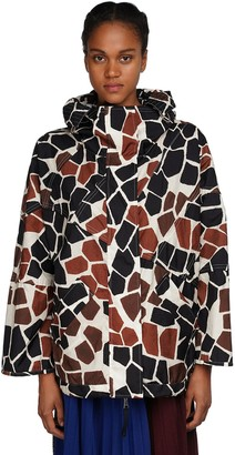 MONCLER GENIUS Freesia Printed Nylon Jacket