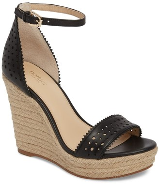 Botkier Jamie Espadrille Wedge Platform Sandal