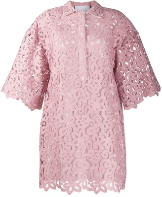 Erika Cavallini Lace Shift Dress