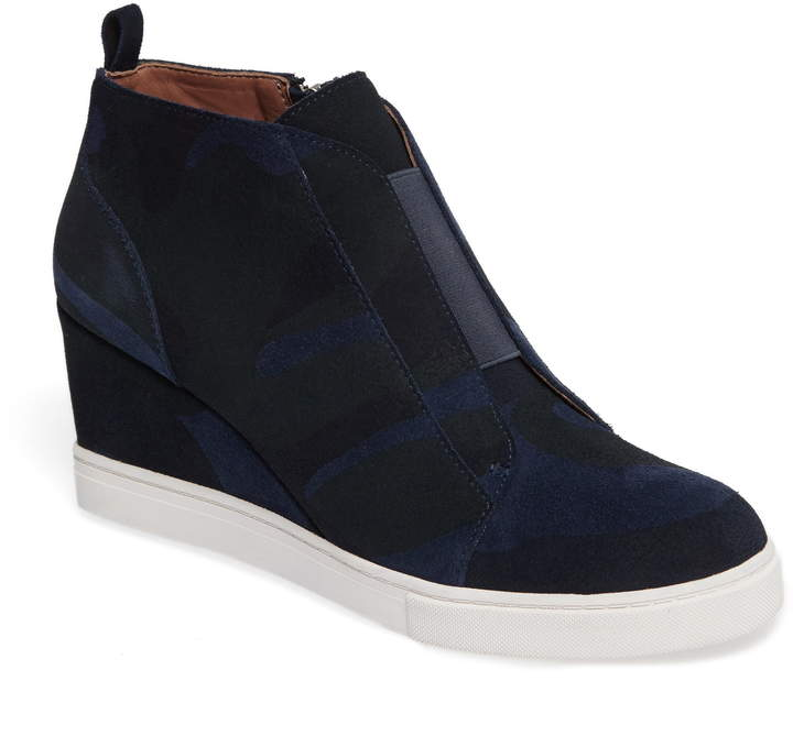 Linea Paolo Felicia Wedge Bootie