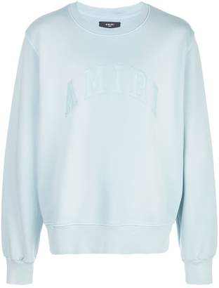 Amiri embroidered logo sweater