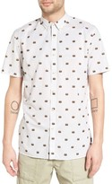 Barney Cools Men's Print Woven Shirt