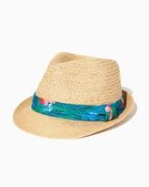 Charming charlie Islander Straw Fedora