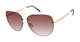 Vince Camuto Women's Vc954 Stylish UV Protective Metal Aviator Sunglasses | All-Season | A Gift of Standout Style 61 mm