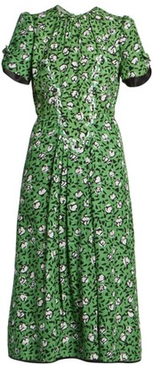 Marc Jacobs The Sofia Loves the 40s Silk Dress