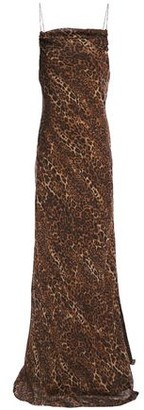 CAMI NYC The Carla Leopard-print Silk-chiffon Maxi Dress