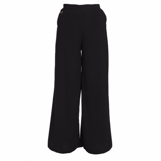 Cocoove Sofia Wide Leg Trouser in Black