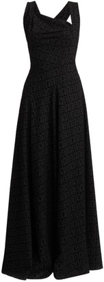Alaia Asymmetric Sleeveless Gown