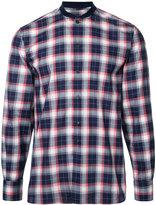MAISON KITSUNÉ 'James' checked shirt - men - Cotton - 38