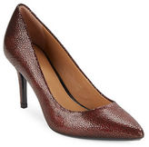 Calvin Klein Gayle Embossed Leather Pumps