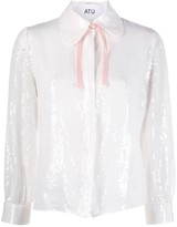 Couture Atu Body sequinned shirt