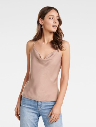 Ever New Camilla Cowl Neck Strappy Cami