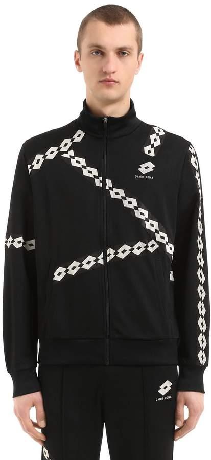 Damir Doma Lotto Zip-Up Nylon Track Jacket