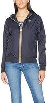 K-Way Women's K0078T0-Bernadette Plus Sponge Waterproof Jacket,UK 12
