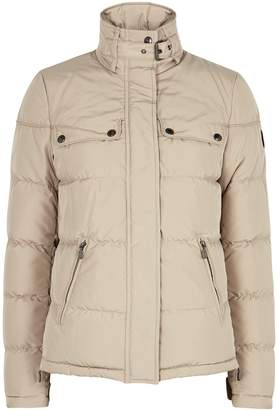 Belstaff Slope Stone Quilted Shell Jacket