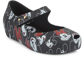 Mini Melissa Baby Girl's Little Girl's Minnie Mickey Mouse PVC Shoes
