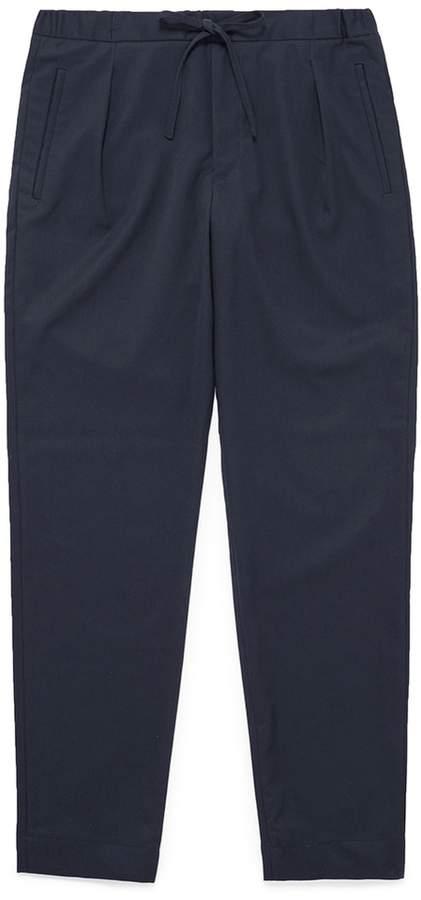 Camoshita Wool twill jogging pants