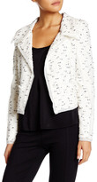 Oscar de la Renta Long Sleeve Crop Jacket