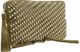 Olivia Harris by Joy Gryson Conical Studded Clutch