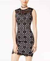 B. Darlin Juniors' Laser-Cut Bodycon Dress
